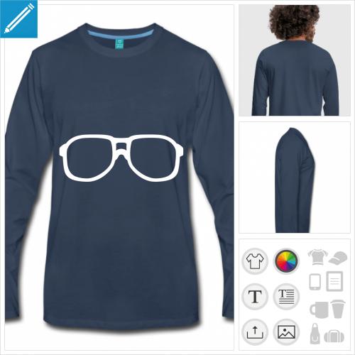 t-shirt nerd à créer soi-même