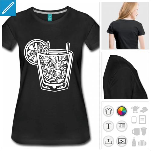 t-shirt alcool à personnaliser en ligne