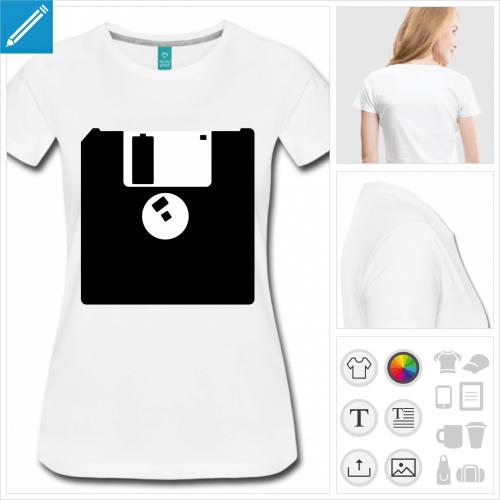 t-shirt nerd à personnaliser