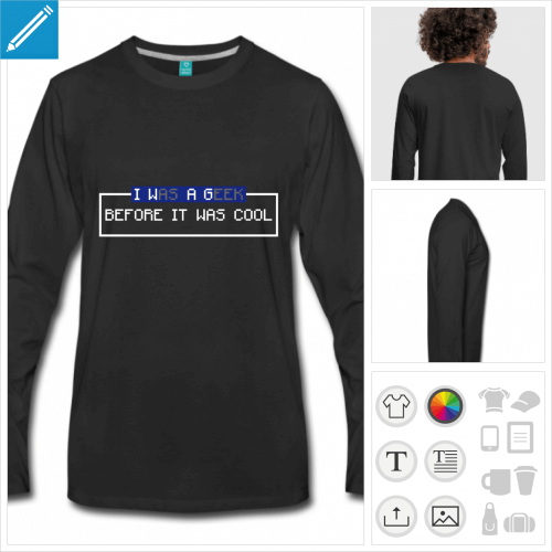 tee-shirt retrogaming à personnaliser en ligne