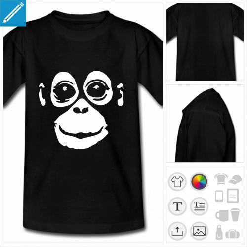 t-shirt simple Orang-outan à imprimer en ligne