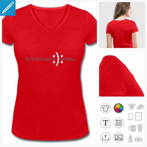 t-shirt science à imprimer en ligne