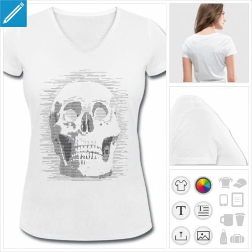t-shirt ascii à personnaliser en ligne