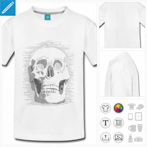 t-shirt ado nerd à créer en ligne