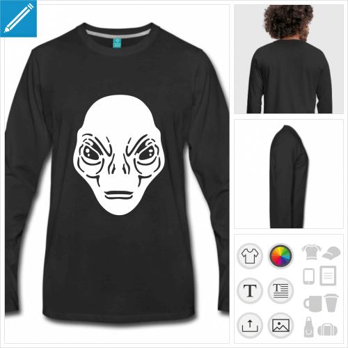 t-shirt aliens à créer en ligne