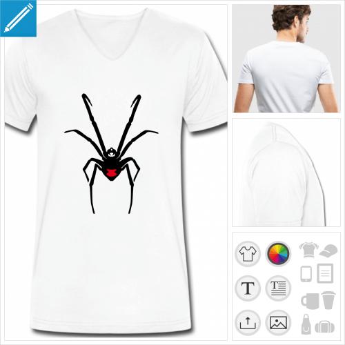 tee-shirt veuve noire à imprimer en ligne