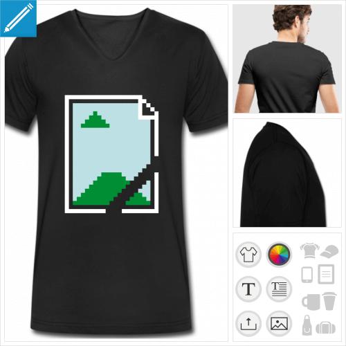 t-shirt geek à personnaliser en ligne