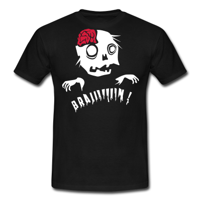 tees personnalises monstres creer un t shirt zombie brainz creez vos t shirts personnalises et. Black Bedroom Furniture Sets. Home Design Ideas